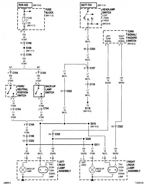 Jeep Wrangler 2015 Wire Diagram