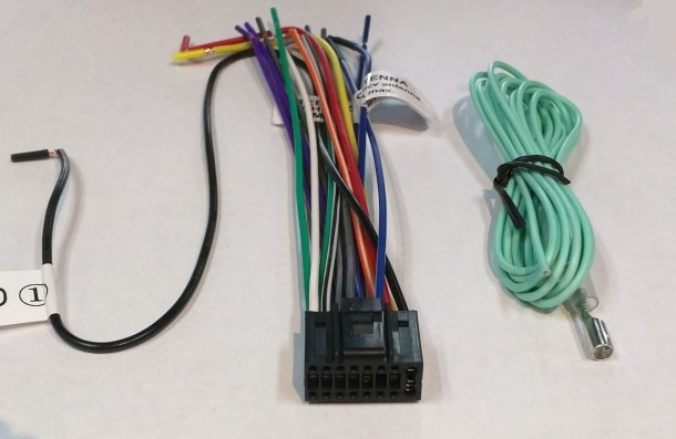 Wire Harness For Jvc Kdr338 Kd