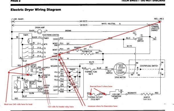 Kenmore 80 Series Electric Dryer Wiring Diagram