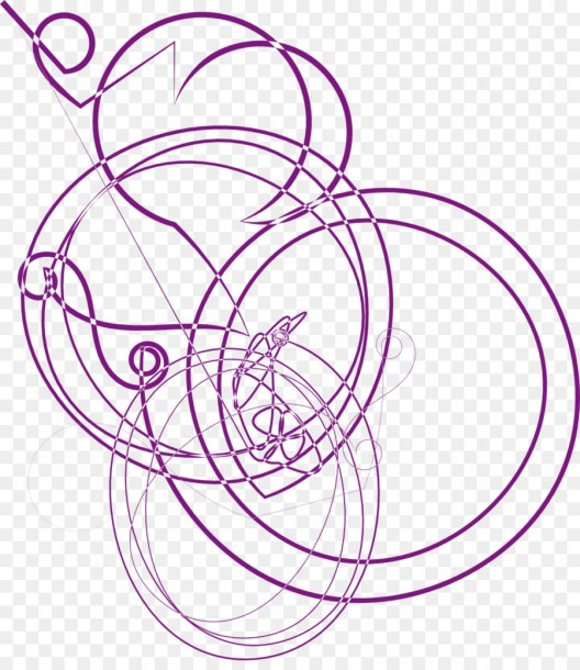 Circle Point Line Art Venn Diagram Clip Art