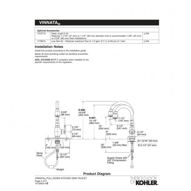 Kitchen  How To Maintenance And Replacement Kohler Faucets Parts