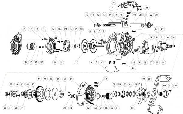 Reel Parts Diagram | Wiring Diagram on shimano parts schematics, engine schematics, electric schematics, daiwa parts schematics, wire schematics, abu garcia schematics, ambassadeur 6500 striper drag schematics, trailer schematics,