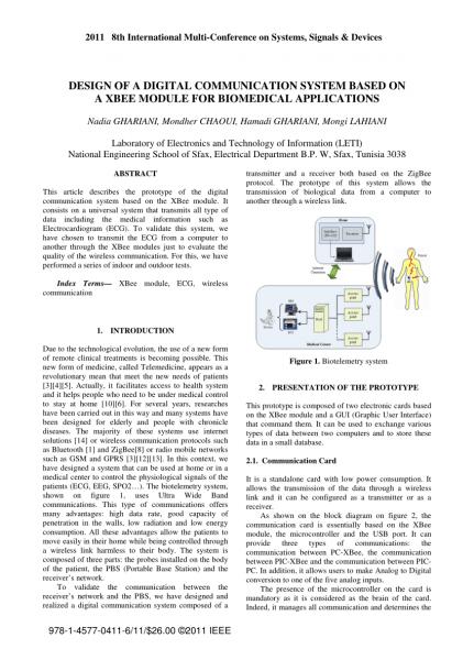 Biotelemetry System
