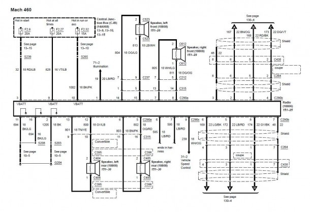 02 Ford Mustang Wiring Diagrams