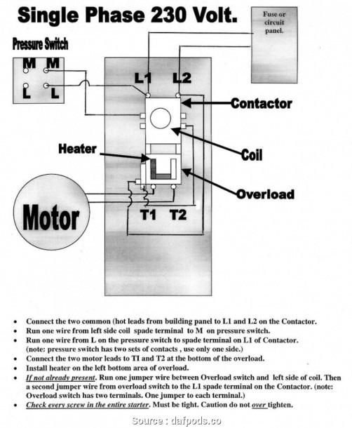 Single Schematic Wiring