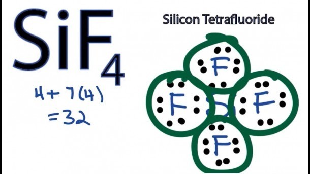 Sif4 Lewis Structure