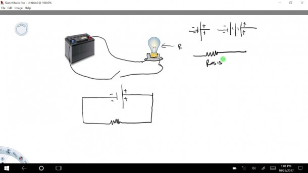 How To Draw A Simple Circuit Diagram