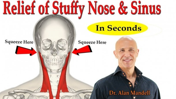 Instant Miracle Relief For Stuffy Nose & Sinus Congestion (mastoid