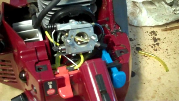 Chainsaw Fuel Line Replacement