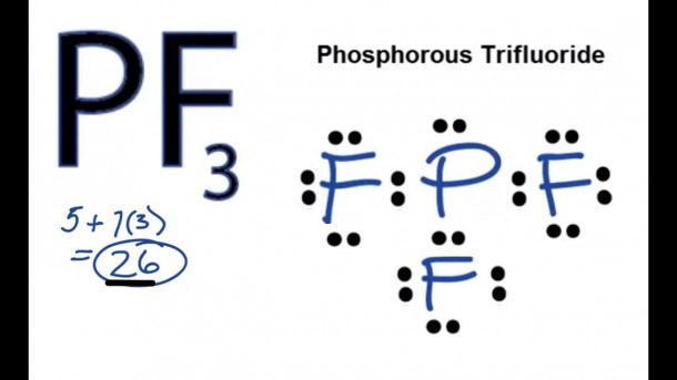 Pf3 Lewis Structure