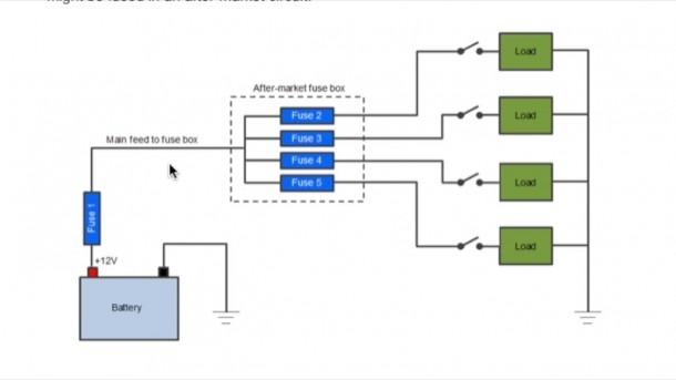 Model A 12 Volt Wiring Diagram