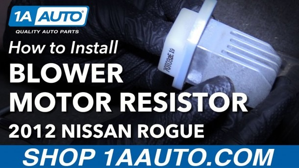 How To Replace Blower Motor Resistor 08