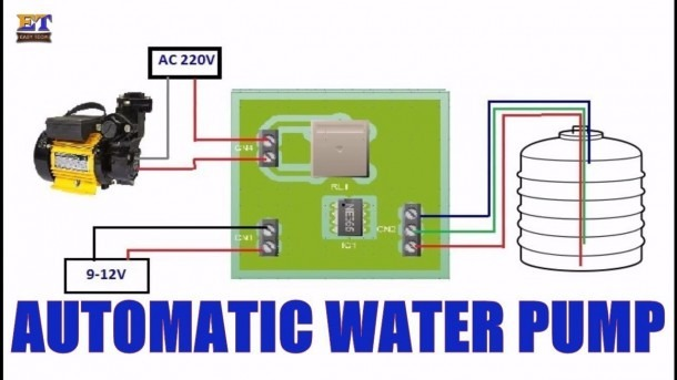 Automatic Water Pump Control Testing