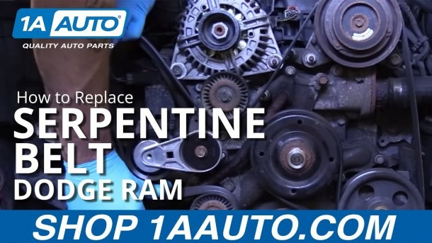 How To Replace Serpentine Belt 02