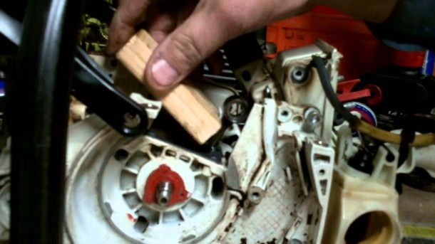 Stihl Chainsaw Repair    How To Chainsaw Series  Stihl Ms260 026