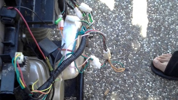 Hotwire A 4 Wire Ignition For Mini Bike