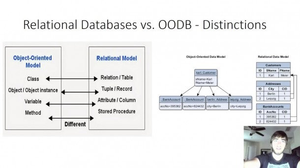 Should You Use A Relational Database Or Object Oriented Database