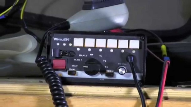 Whelen 295slsa6 Emergency Vehicle Siren Demo