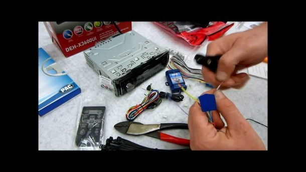 How To Wire Up And Prep A New Radio, Dash Kit, Harness And