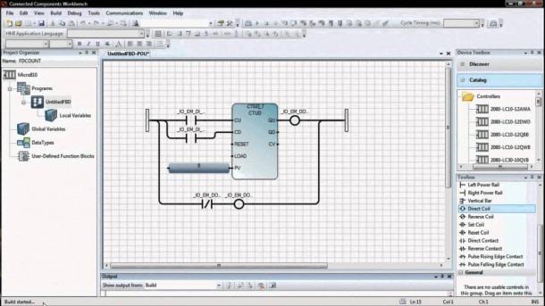 Counter Plc Using A Functional Block Diagram