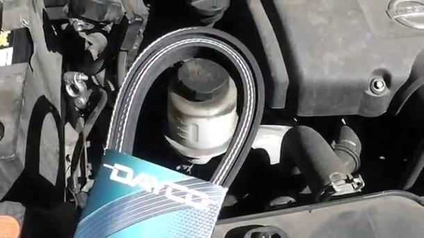 How To Change Serpentine Fan Belt On 2006 Nissan Titan