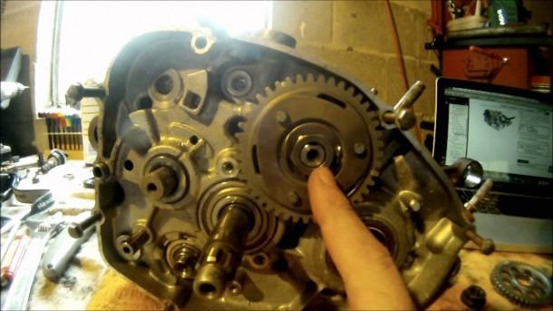 Yamaha Blaster Bottom End Engine Assembly