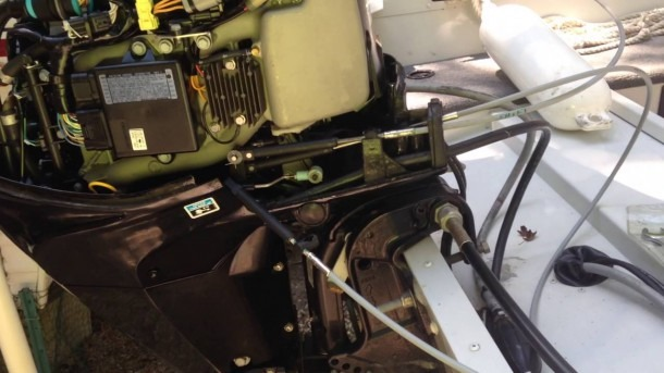 25 Mercury Outboard Throttle & Shift Cable Replacement