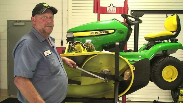 Don't Know  Ask Joe! Replacing Belt On A X300 John Deere Lawn