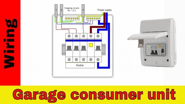 How To Wire A Shed For Electricity Diagram