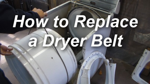 How To Replace A Belt On A Maytag Dryer