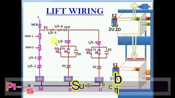 Building Lift Wiring Diagram