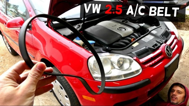 2007 Volkswagen Rabbit Belt Diagram