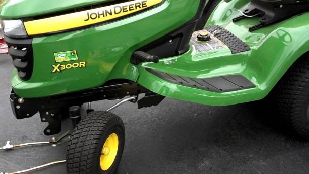 John Deere X300r Tractor's Mower Belt Replacement