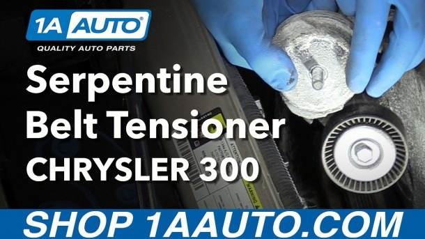 How To Replace Serpentine Belt Tensioner 05