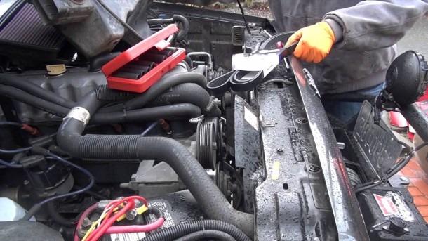Jeep 4 0 Inline 6 Serpentine Belt Replacement