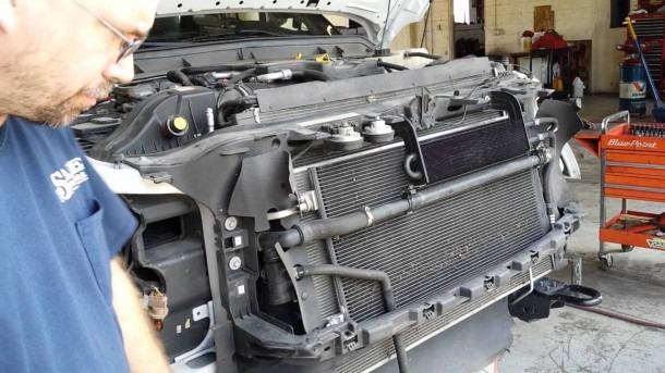 6 7 Powerstroke Primary Radiator Replacement