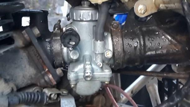 17€ Carburetor From Banggood Yamaha Blaster 200 Running Test