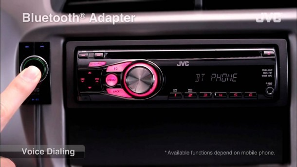 Jvc Mobile Car Audio Receiver  Bluetooth(r) Adapter