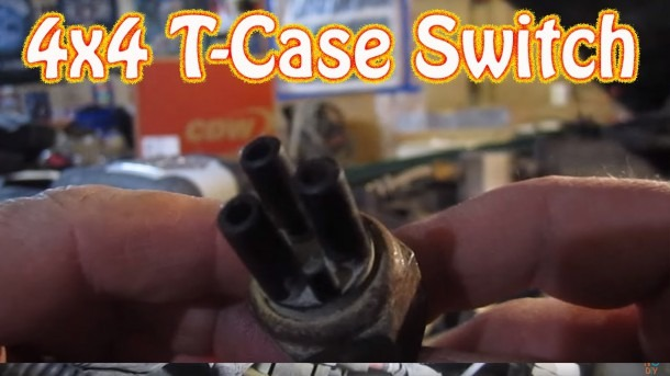 Chevy Blazer   Gmc Jimmy 4wd Transfer Case Vacuum Switch Location