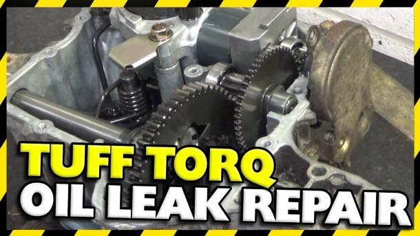 Tuff Torq Gearbox Oil Leak Repair