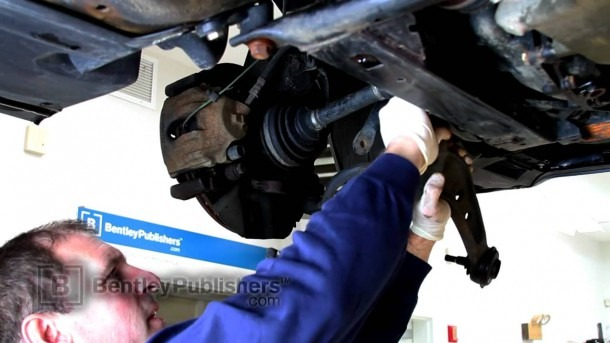 Bmw 3 Series E46 (325xi) Front Lower Control Arm, Replacing
