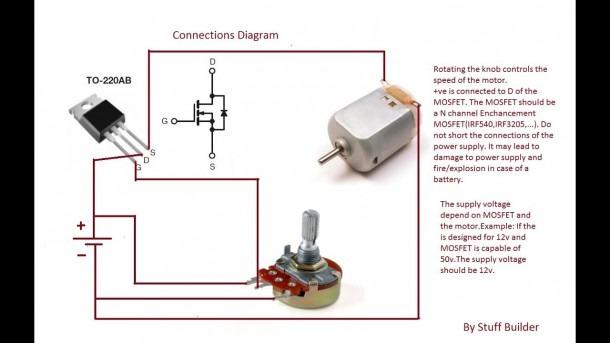 ➤ Diagram Dc Motor Controller Schematic Diagram