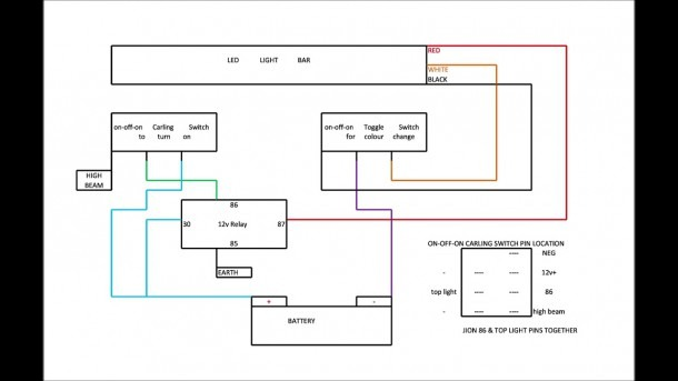 Led Bar Wiring Diagram