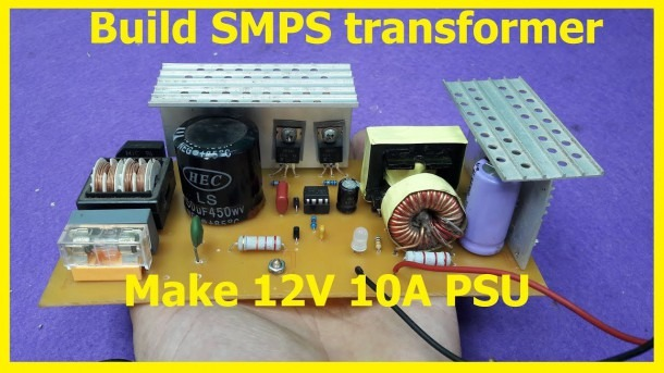 How To Build Smps Transformer