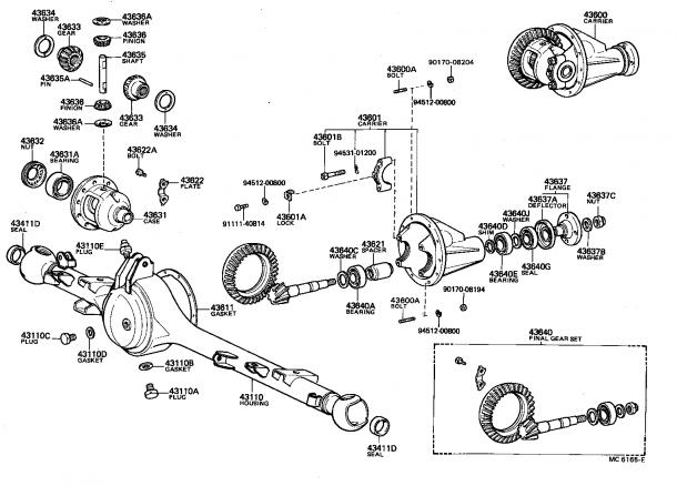 Toyota Hiluxrn46r