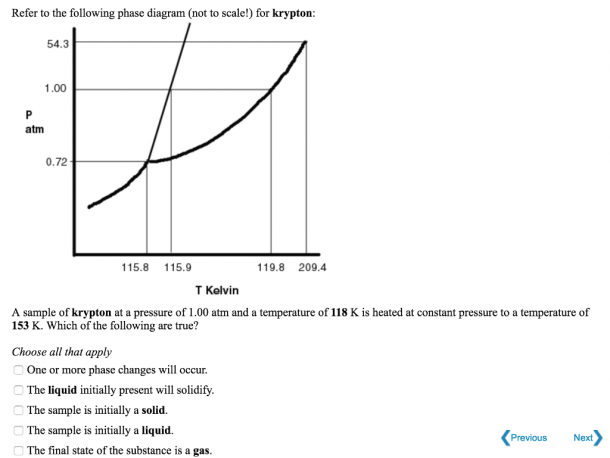 Solved  Refer To The Following Phase Diagram (not To Scale
