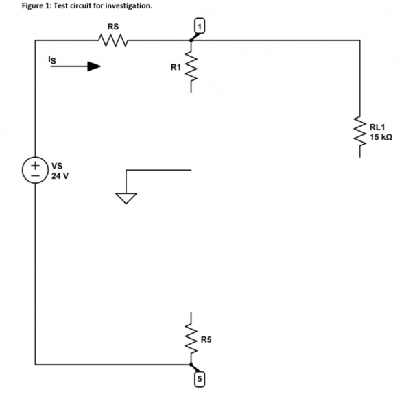 Solved  Complete The Loaded Voltage Divider Circuit Diagra