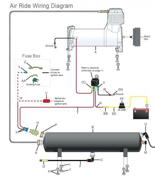 Car Air Ride Wiring Diagram