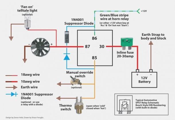 Auto Fan Wiring Diagram