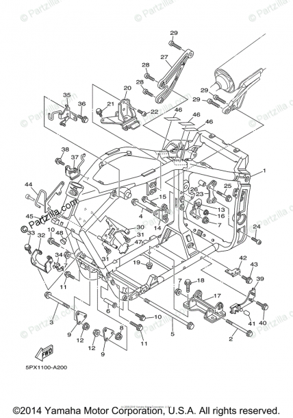 Mio Sporty Parts Diagram